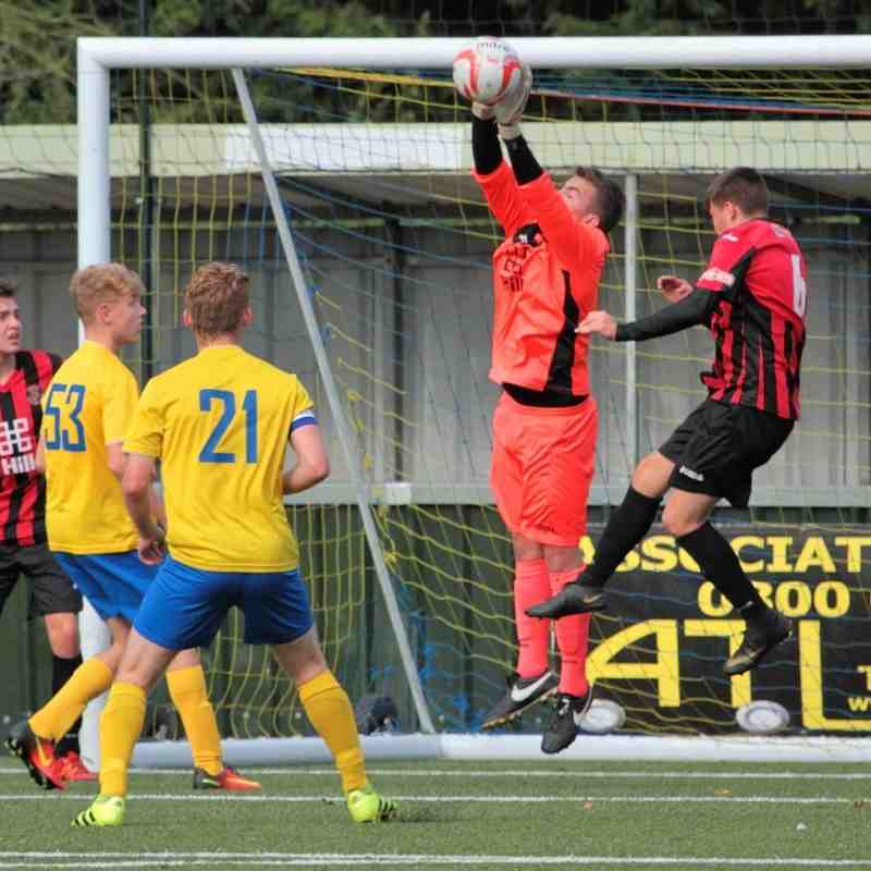 AFC Sudbury U19s 3 v Histon U19s 0