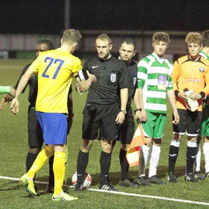 AFC Sudbury U18s 2 Framlingham Town U18s 1 FA Youth Cup