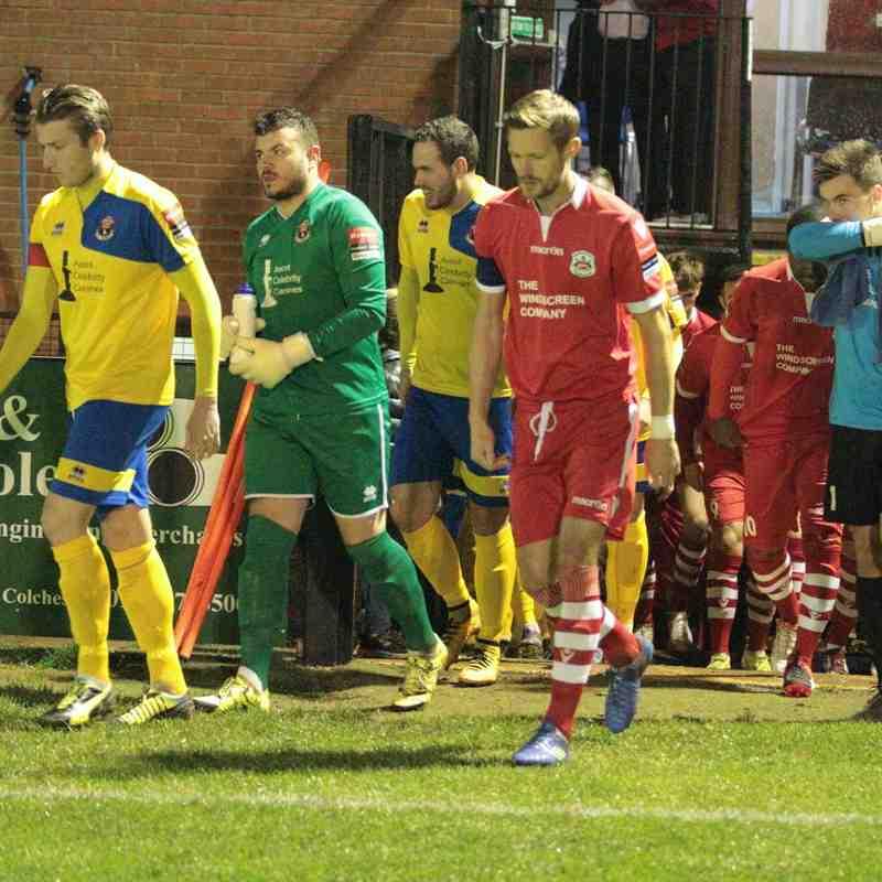 Needham Market 1 AFC Sudbury 0 Suffolk Prem Cup