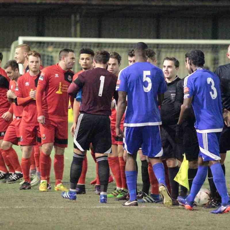 Billericay Town 2 AFC Sudbury 3