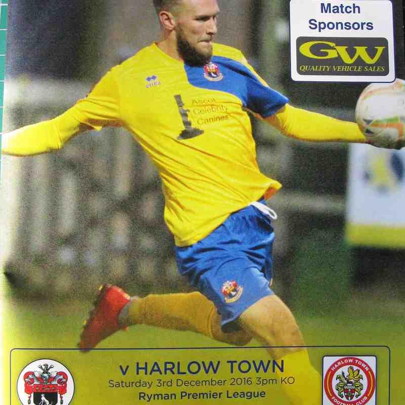 AFC Sudbury 1 Harlow Town 2
