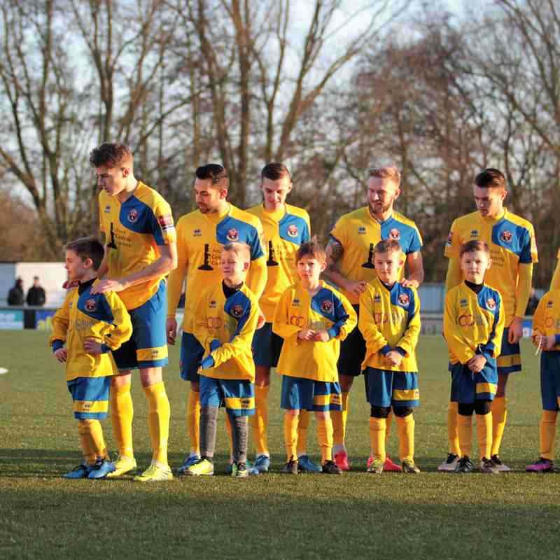Mascots v Lowestoft Town