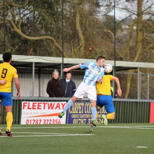 Crow to the double as AFC defeat Folkestone