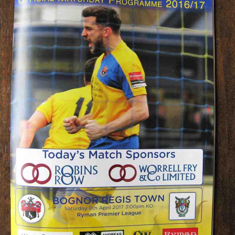 AFC Sudbury 0 Bognor Regis Town 4