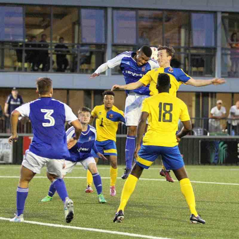 AFC Sudbury 3 Ipswich Town U23s 1 Pre Season Friendly