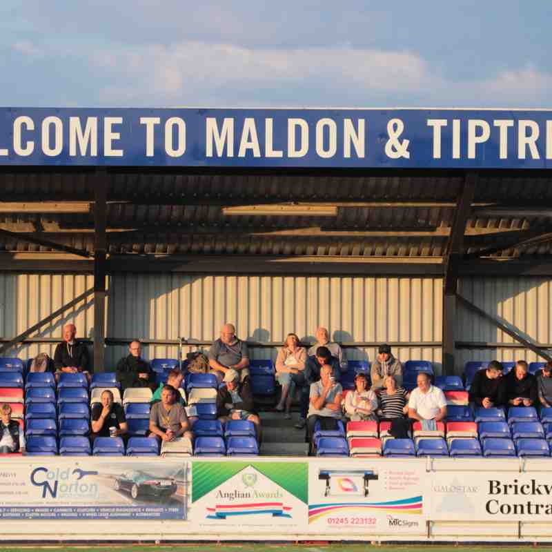 Maldon & Tiptree 1 AFC Sudbury 1  Abandoned at Half Time