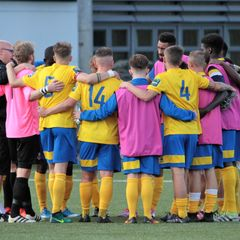 AFC Sudbury 4 Aveley 0 FA Cup