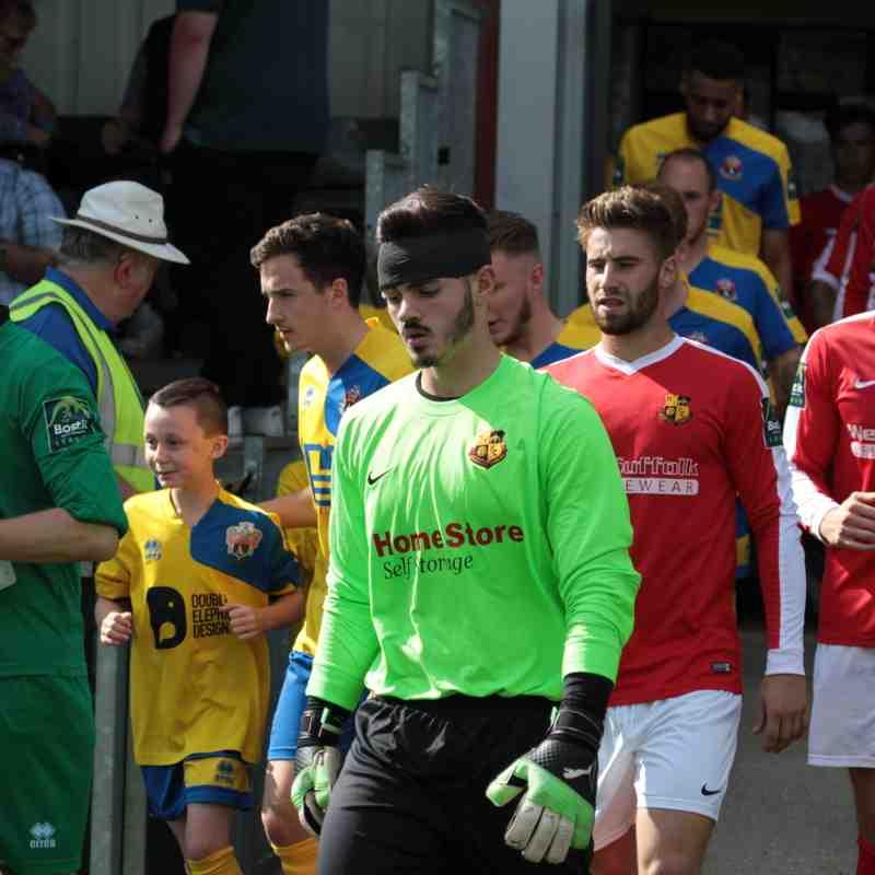 AFC Sudbury 1 Mildenhall Town 1 FA Cup