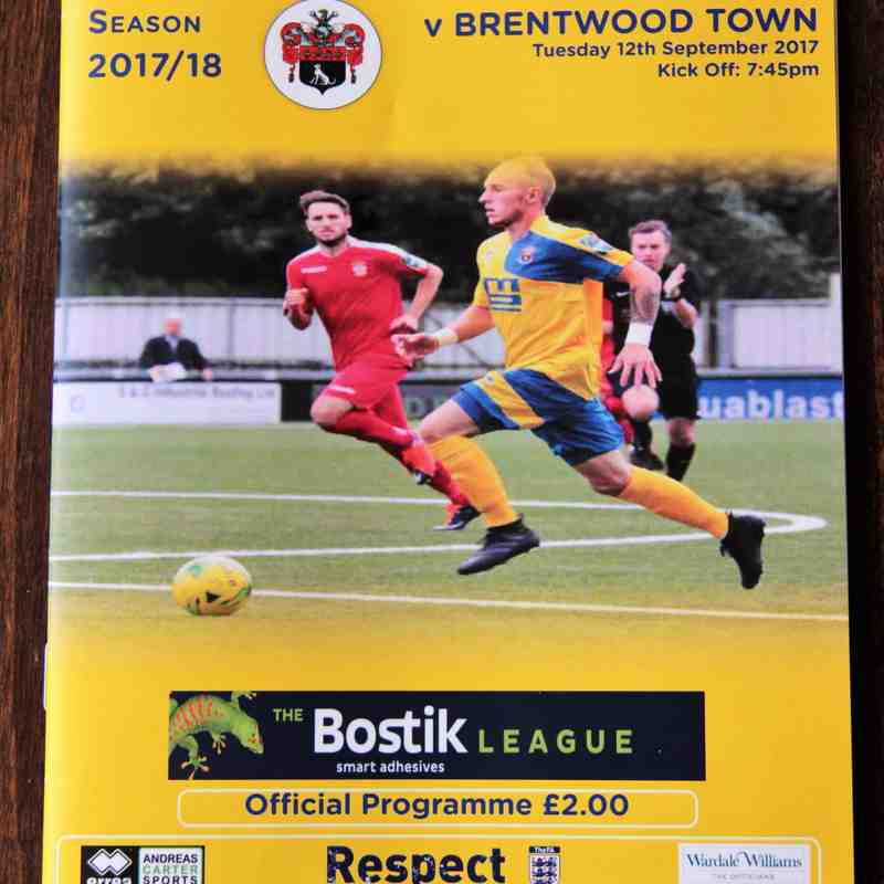 AFC Sudbury 3 Brentwood Town 0