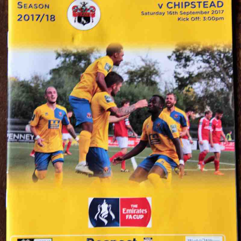 AFC Sudbury 3 Chipstead Town  0 FA Cup