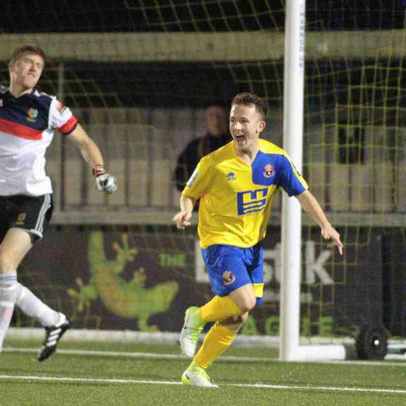 AFC Sudbury 5 Brightlingsea Regent 1 League Cup