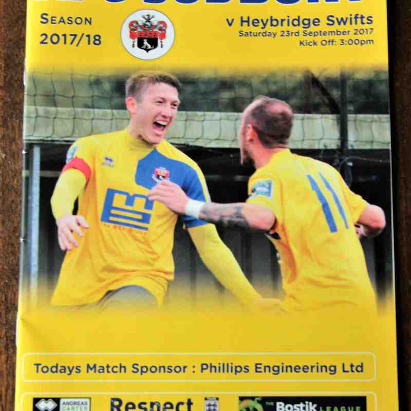 AFC Sudbury 3 Heybridge Swifts 2