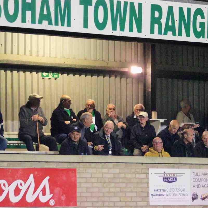 Soham Town Rangers 0 AFC Sudbury 2