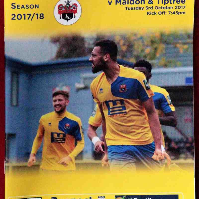 AFC Sudbury 1 Maldon & Tiptree 1