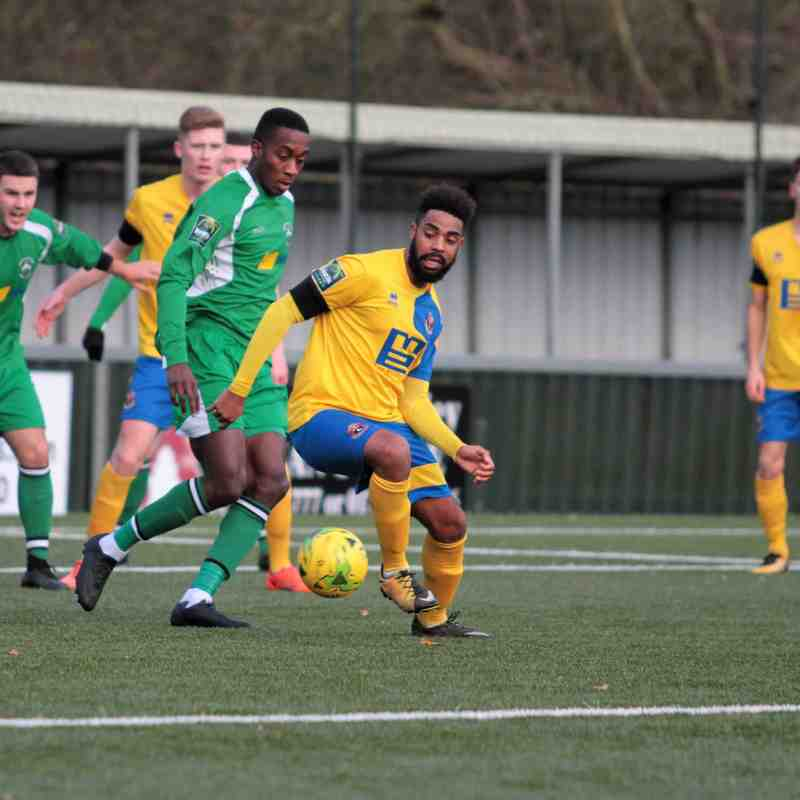 AFC Sudbury 1 Haringey Borough 2