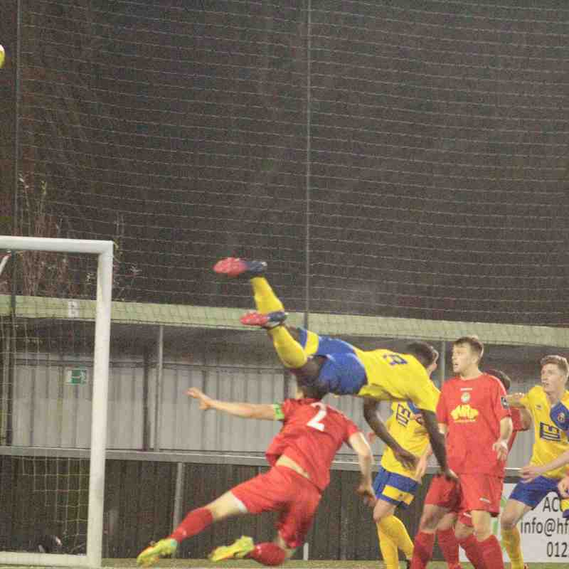 AFC Sudbury 1 Hertford Town 1
