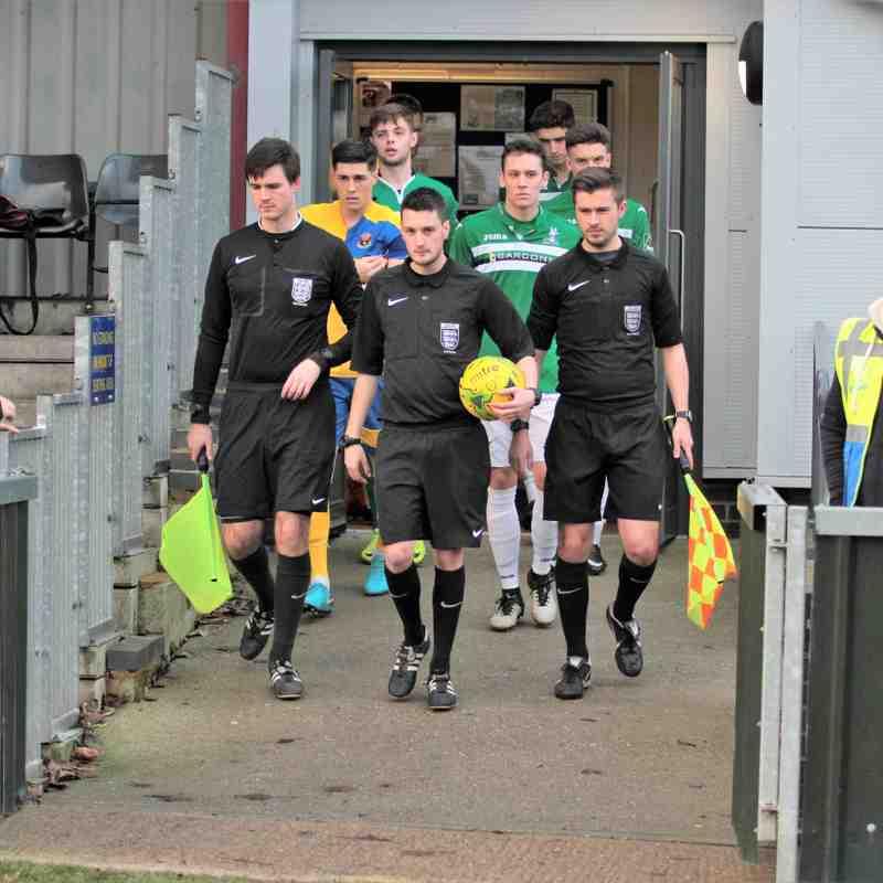 AFC Sudbury 1 Dereham Town 4