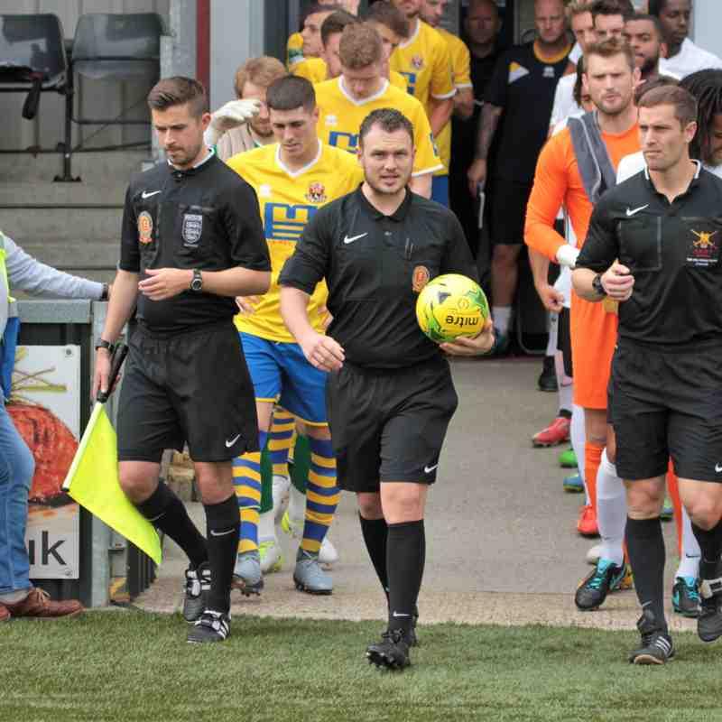 AFC Sudbury 3 Royston Town 2 FA Cup