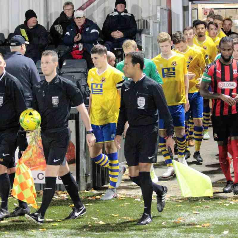 AFC Sudbury 0 Coggeshall Town 1