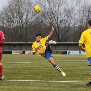 Home defeat against a strong Aveley side