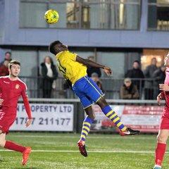 AFC Sudbury 0 Aveley 2