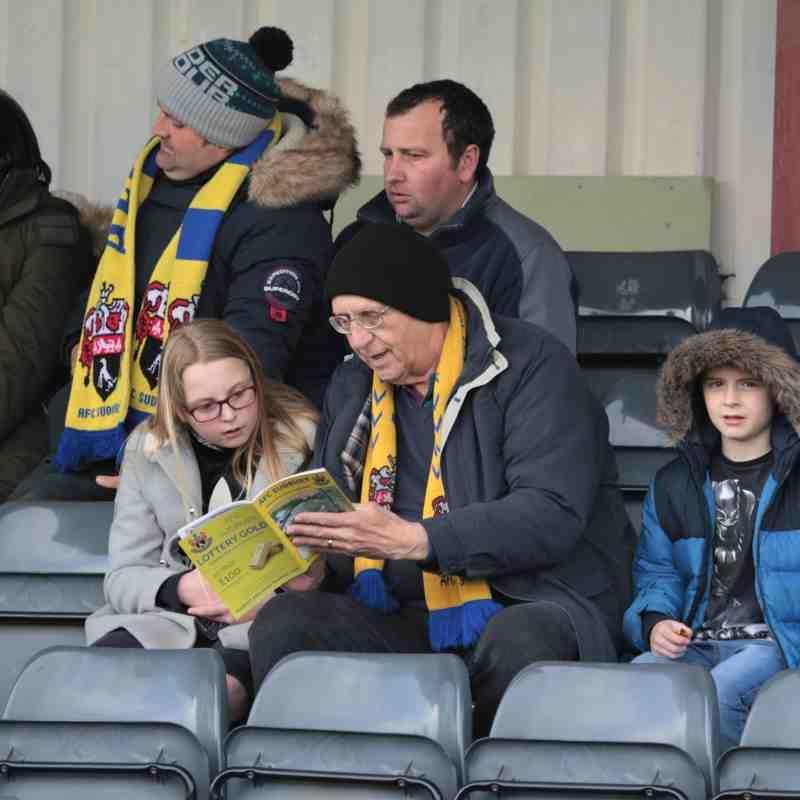 AFC Sudbury 1 Romford 3