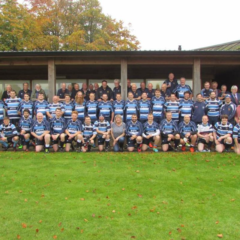 Harwell RFC 1st team lose to Berkshire Shire Hall 14 - 57