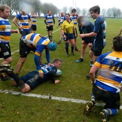 Harwell RFC 1st team beat Berkshire Shire Hall 24 - 14