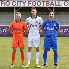 Truro City 2016-17 Kit Unveiled