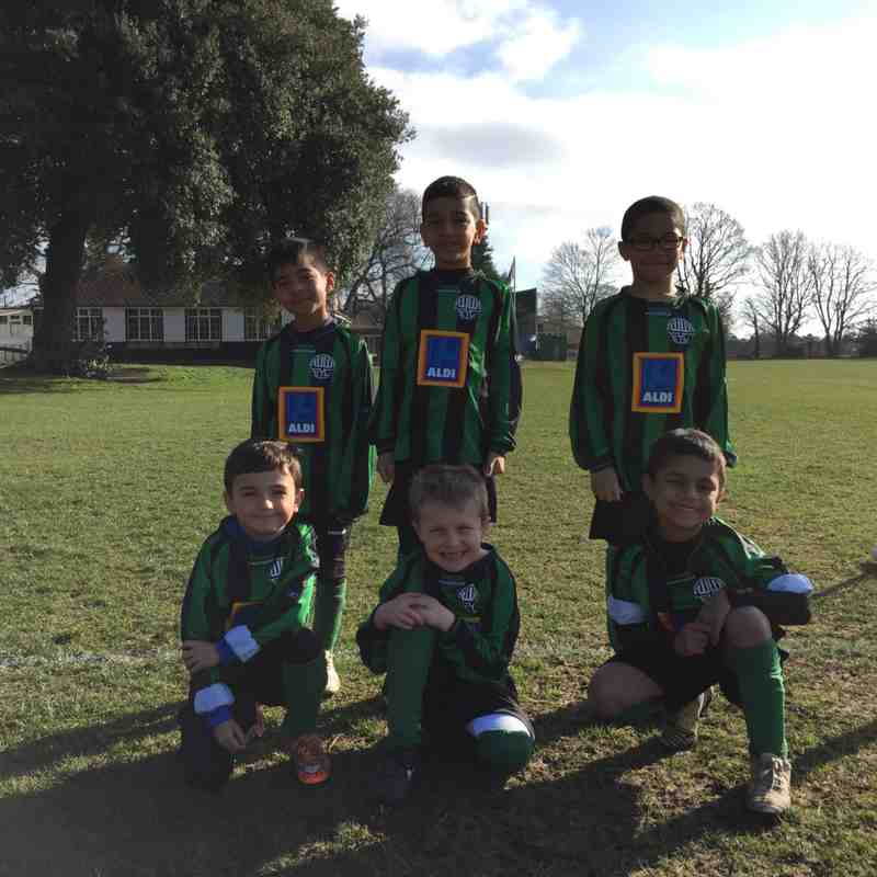 Whitton Wanderers U7 Panthers