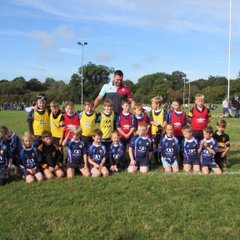 Season 2016-17 U9s Training at Home with the Quins and Old Cats