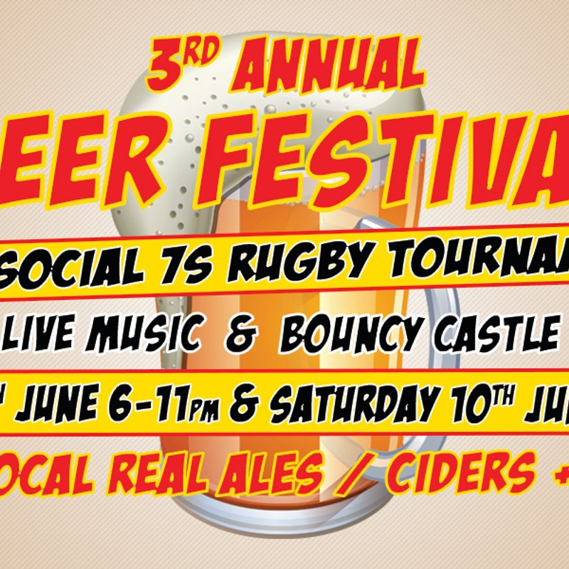 All 21 casks of Ale have sponsors for the Beer Festival