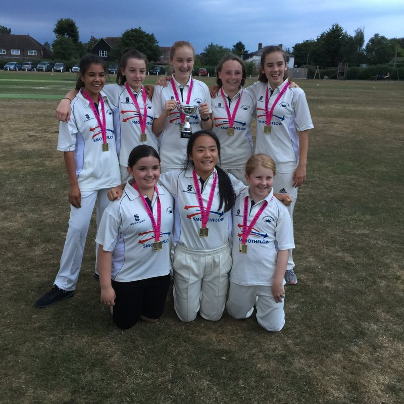 U13 Girls win Lady Taverners Tournament