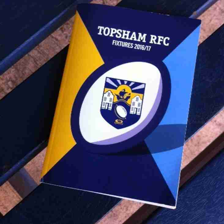 2016-17 Fixture books now available!