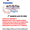 Family Bingo Nights Return to Thatcham RFC