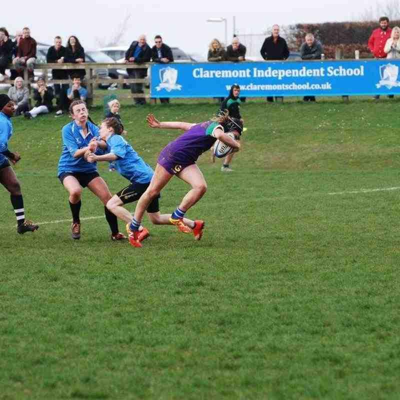 Heathfield Ladies vs Sussex University Ladies