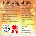 FUN DOG SHOW FUNDRAISER