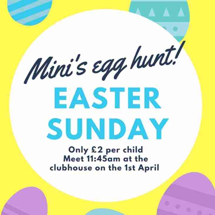 Mini's Easter Egg Hunt