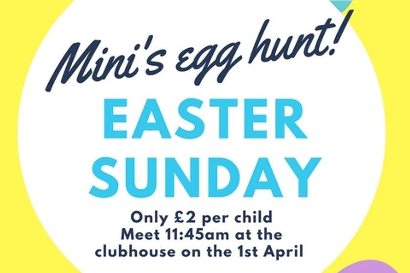 Mini's Easter Egg Hunt