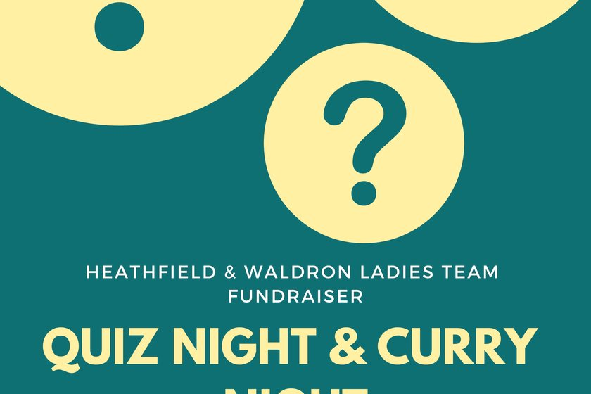 LADIES TEAM QUIZ & CURRY NIGHT FUNDRAISER