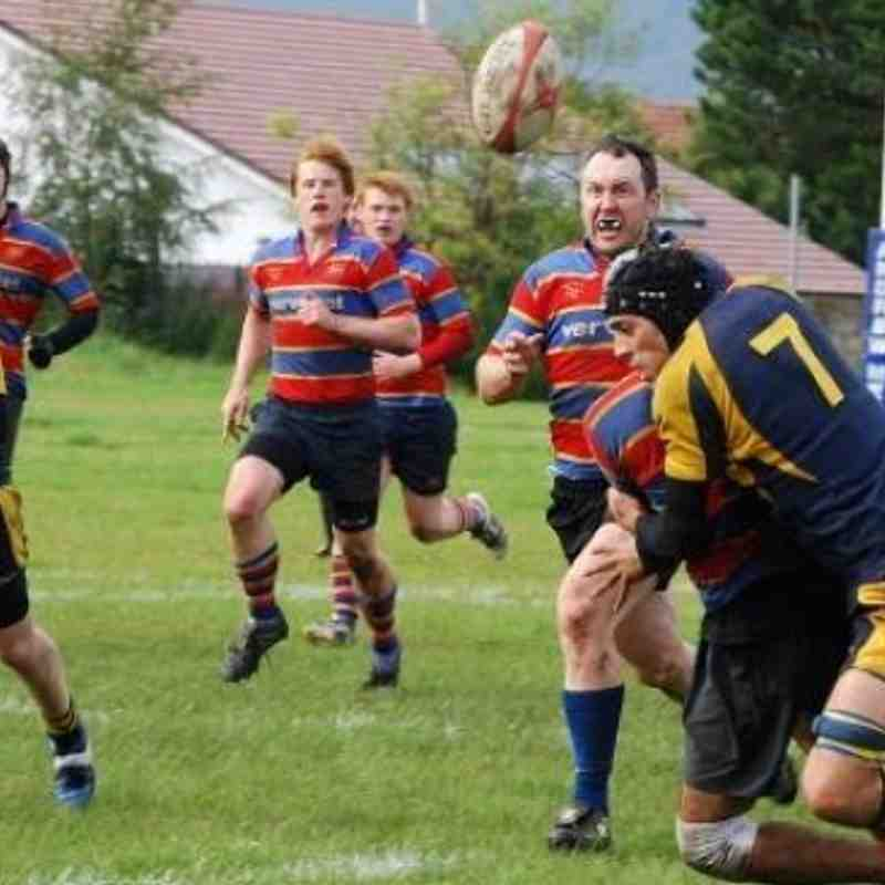 Lenzie 2nd XV v WD 2nd XV 1st September 2012