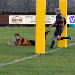 Annan V Waysiders Drumpellier 5th January 2013