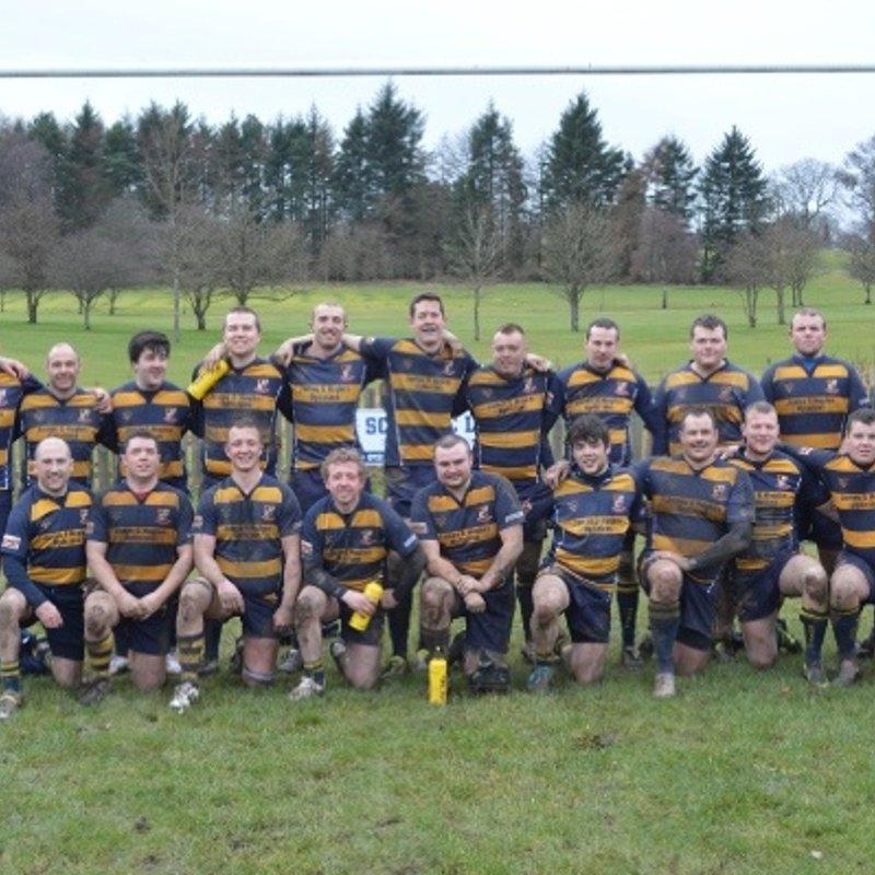 1st XV beat Cumbernauld 19 - 20