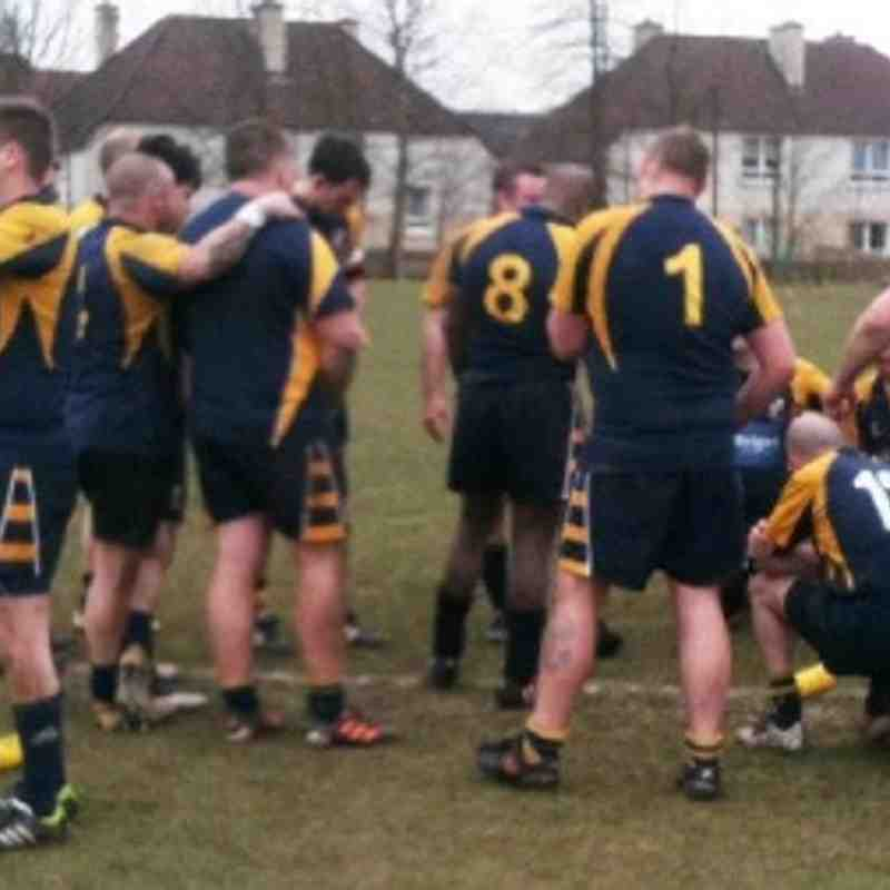 WD 2nd XV v Ardrossan Accies 2nd XV