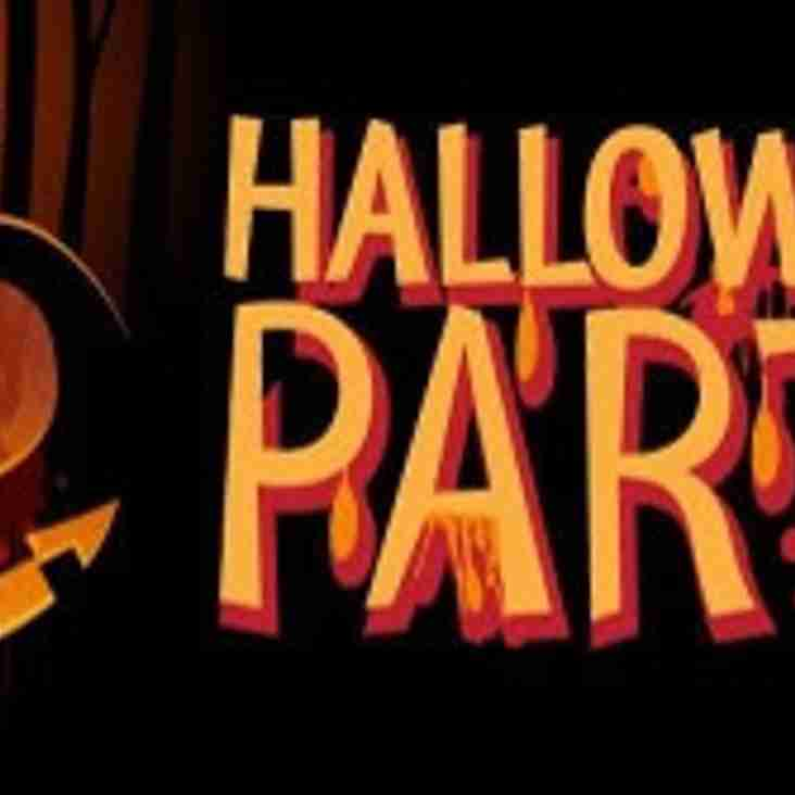 HALLOWEEN PARTY NIGHT SATURDAY 5th NOVEMBER 2016