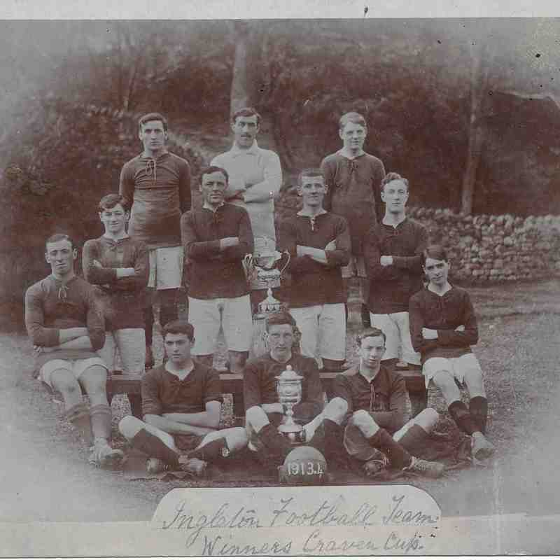 Craven Cup 1913-14 courtesy of the family of William Dixon