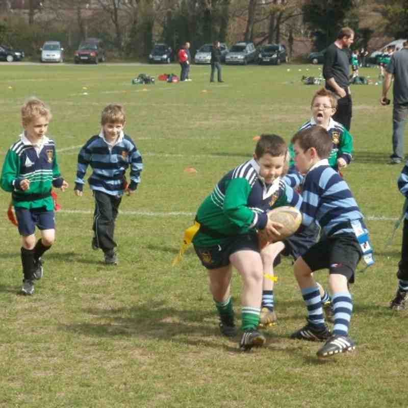 under 7's against Folkestone 11/4/2011