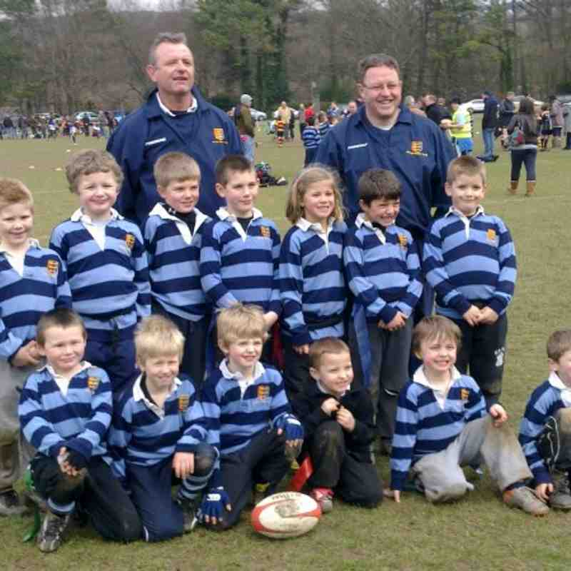 under 7s team photo 13th march 2011