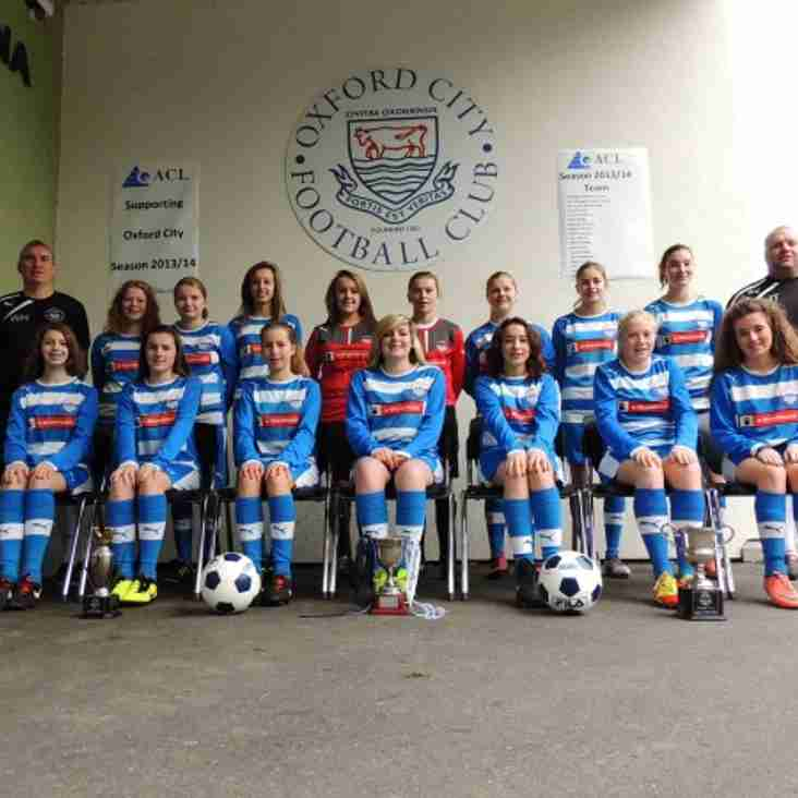 Ladies U18's in massive top of table clash