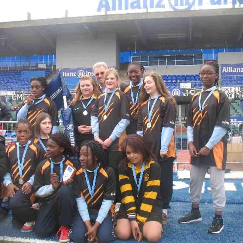 Tiger Girls at Saracens